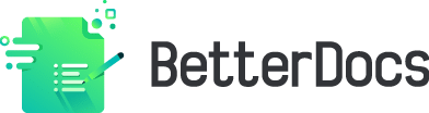 BetterDocs side Logo