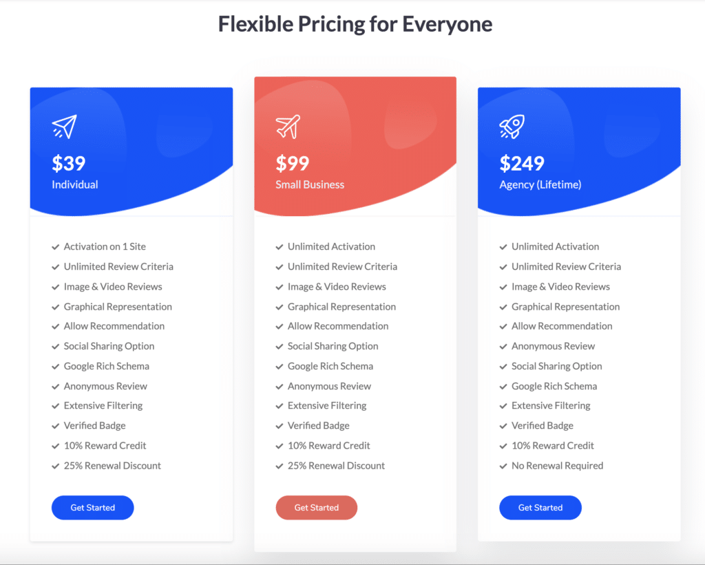 reviewx pricing