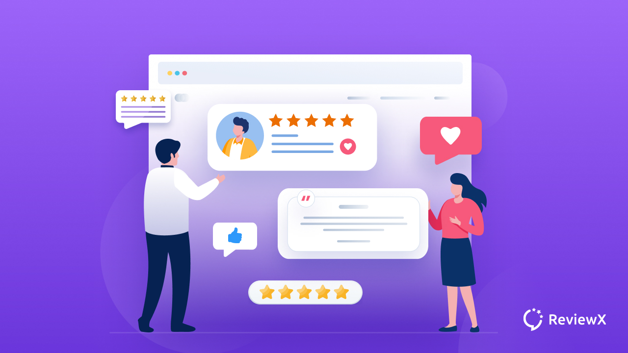 Customer testimonial page